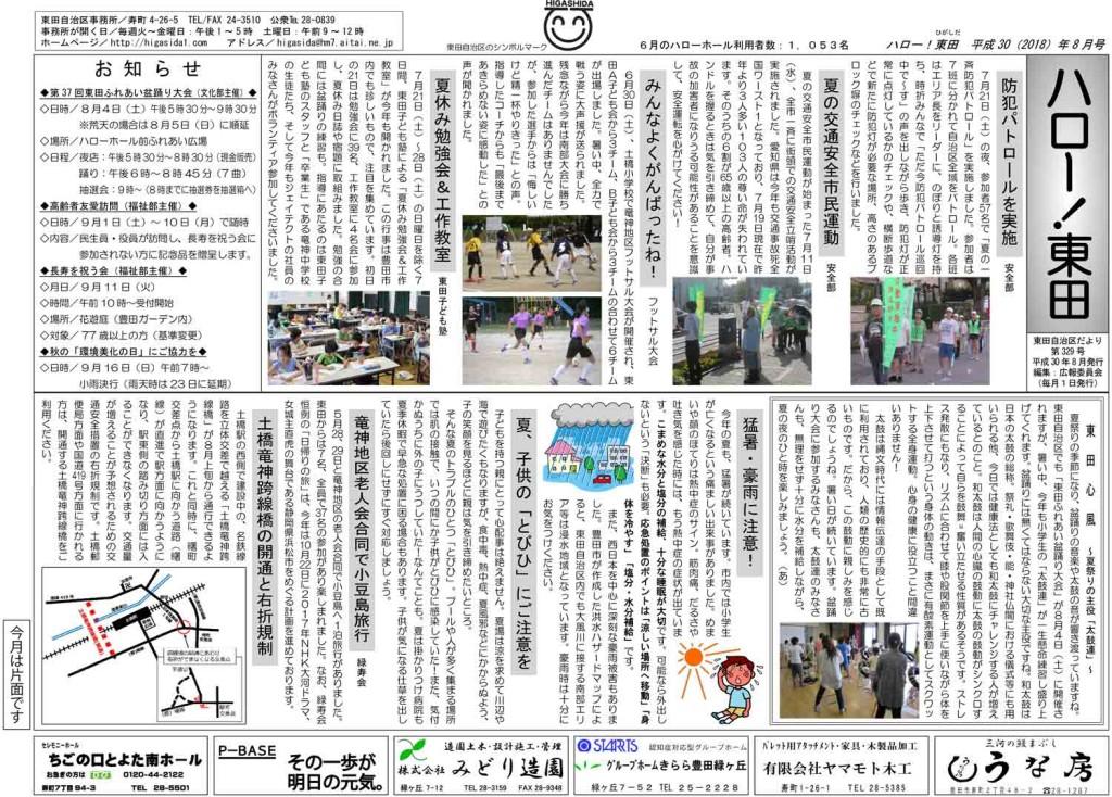 ハロー東田-2018
